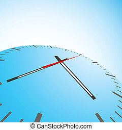 clock background - illustration of abstract background with...