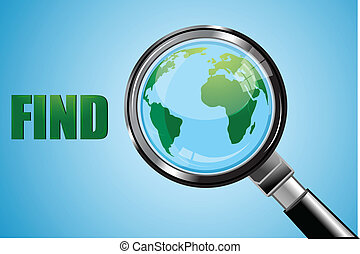 find earth