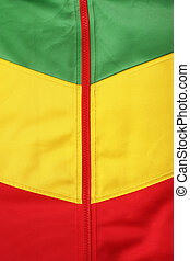 africa jacket green yellow red