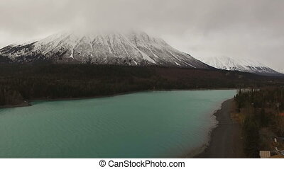 Kenai Lake Last Frontier Alaska Route 1 Emerald Color - An...