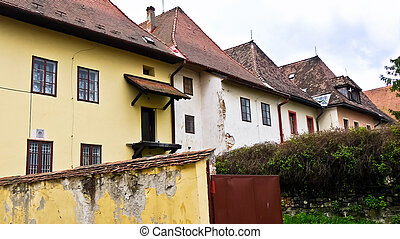Historic buildings - Renovated historic buildings from the...