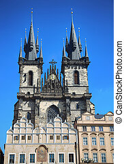 Church of our Lady Tyn in Prague, Czech Republic