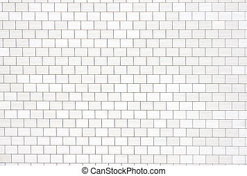 Like The Wall from Pink Floyd - A white wall which looks...