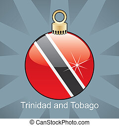 Trinidad and Tobago flag - fully editable vector...