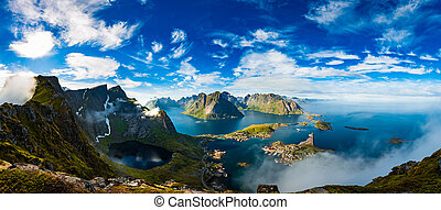 Lofoten is an archipelago in the county of Nordland, Norway....