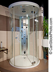 Shower Bath - Picture of modern and trendy shower bath.