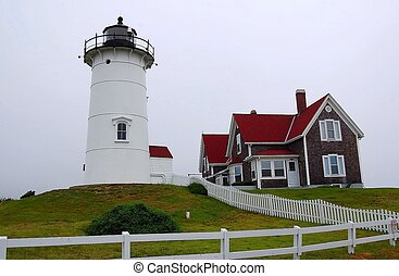 Nobska Lighthouse - Woods Hole, MA