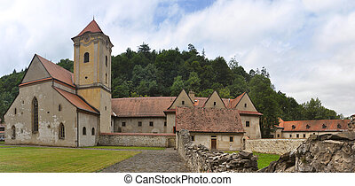 Saint Donatus - ancient Red Cloister (slovak: Cerveny...