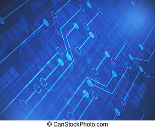 Motherboard background - Abstract motherboard background....