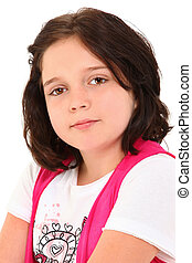 Beautiful Girl with Prostetic Eye - Beautiful 12 year old...