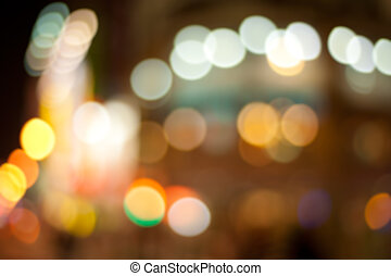 Color photo background with city illuminated light.