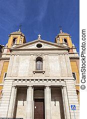San Pedro Church in Almeria. Almeria, Andalusia, Spain.