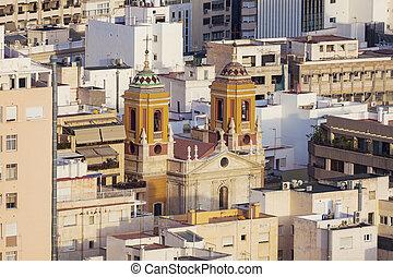 San Pedro Church in Almeria - San Pedro Church in Almeria....