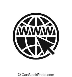 Web Icons set, Network sign, template. - Web Icons set,...