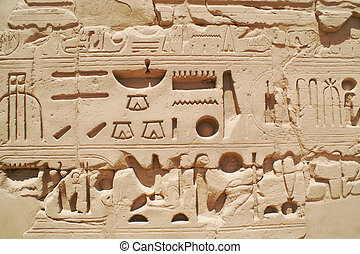 Egypt signs 5 - Egypt hieroglyphics in Luxor