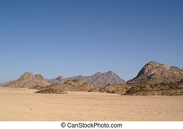 Desert 1 - Arabian desert and mountain of Red Sea