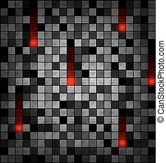 colored image of gray red blocks - abstract gray colored...