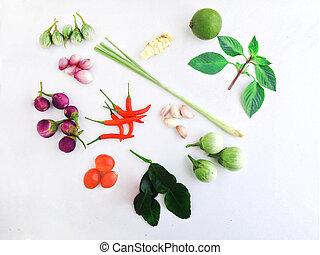 蔬菜, 心成形