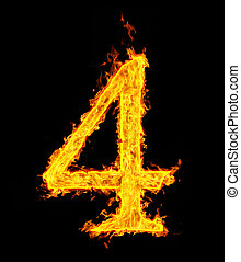 fire figure - 4 (four), fire figure