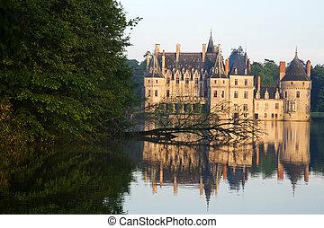 castle - ancient castle, blue sky, Europe