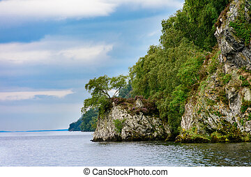 Loch Ness, Scotland - Summer on the beautiful Loch Ness and...