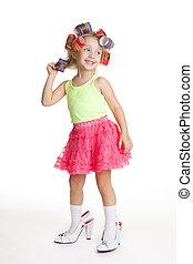Little fashion-conscious giirl