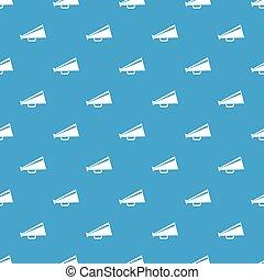 Mouthpiece pattern seamless blue - Mouthpiece pattern repeat...