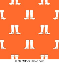 Rubber boots pattern seamless - Rubber boots pattern repeat...