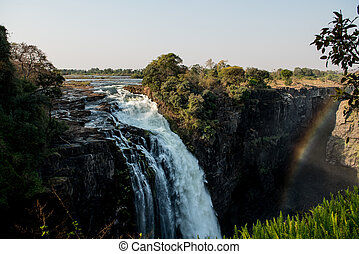 The great Victoria Falls (Zimbabwe) - Victoria Falls (also...