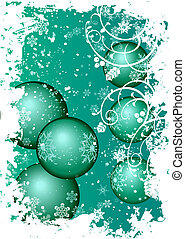 "Background ""christmas"" - Green background ""christmas"""