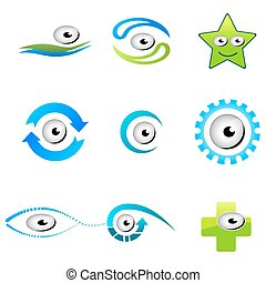 different shapes of eyes