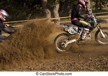 Dust - Motocross Competition