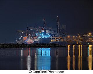 węgiel, Załadowczy, statek