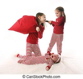 Sibling sister chaos