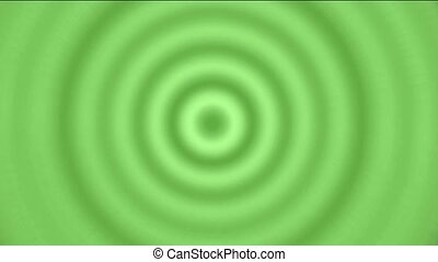 green circle,round,ring,ripple,tunnel