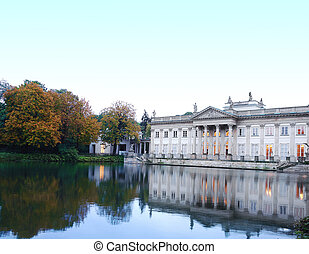 Lazienki Palace in Warsaw - Lazienki Palace, also known as...
