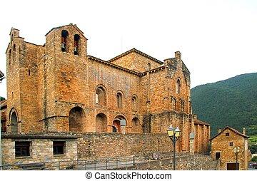 San Pedro siresa romanesque monastery church Huesca aragon...
