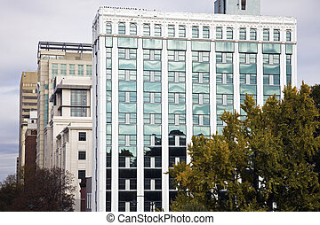 Downtown of Columbia - Buildings in Downtown of Columbia,...