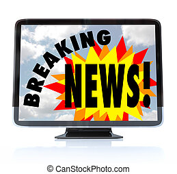 Breaking News - High Definition Television HDTV - A HDTV...