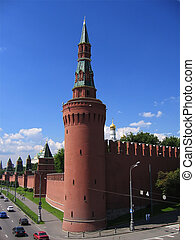 Towers of the Kremlin - The Kremlin; Moscow; cathedral;...