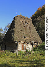 Traditional house from Transylvania,Romania - Image of a...