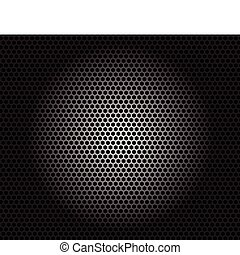 Speaker grille.