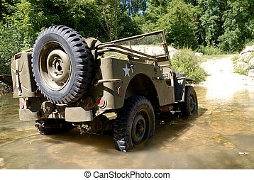 american military jeep vehicle of wwii - us american...