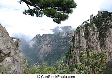 Mount Huangshan - World Heritage -- Mount Huangshan in...