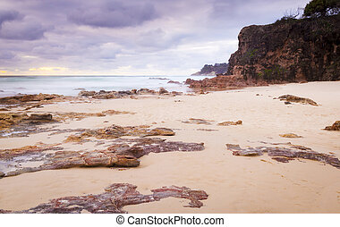 Deadmans Beach Stradbroke Island - Deadmans Beach sunrise...