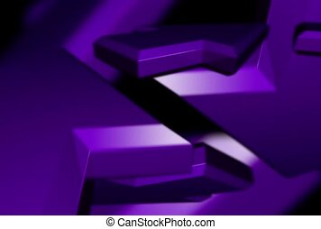purple, arrow, symbol