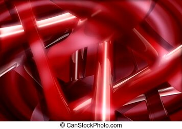 reflective, red, beam