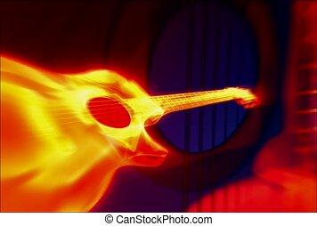 music, guitar, acoustic