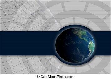 globe, planet, turn