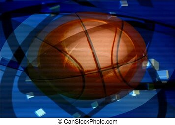 basketball, ball, game
